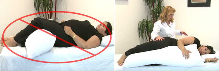 Pregnancy Sleeping Positions